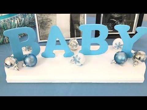 Baby shower DIY decor - BABY BOY