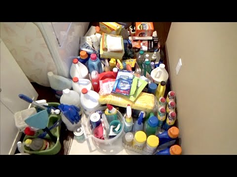 DECLUTTERING Cleaning Products (Household Komono)~TjsWays
