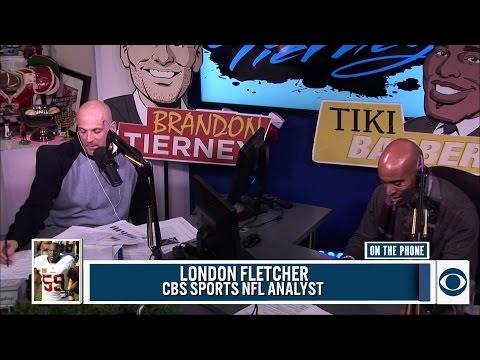 London Fletcher joins Tiki and Tierney