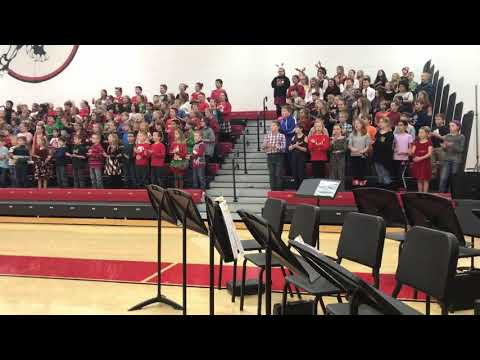Song of Peace by Teresa Jennings performed by Marseilles Elementary School on December 12, 2019.