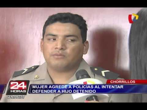 Chorrillos: Dictan 30 días de prisión preventiva a mujer que agredió a policía en comisaría