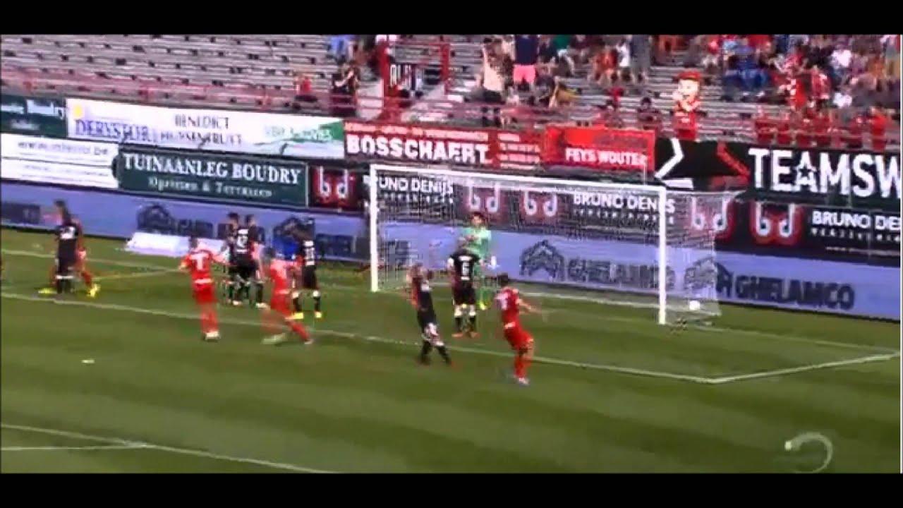 Jupiler Pro League 2014 15 All Goals Matchday 1 2 Youtube