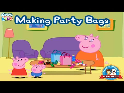 Peppa Pig's Party Time - Making Party Bags | Help Peppa Make Some Party Bags | Cool Apps For Kids