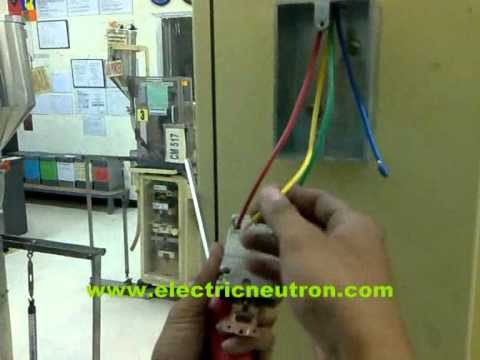 How to install 200 VAC 3 phase socket outlet.wmv - YouTube