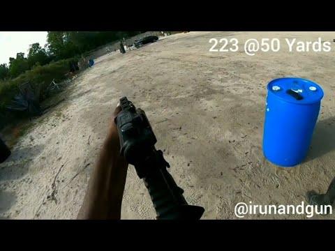 Range Day Footage - 50 Yards - Standing - Unsupported - 223 - Holosun 515GM Elite - AR-15 - Lancer
