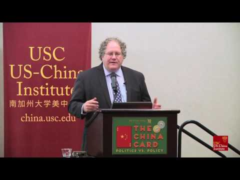 "Clayton Dube: Opening Remarks for ""The China Card: Politics Vs. Policy"""