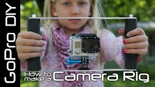 How to make a GoPro Camera Rig - Double Handle Tray Mount - GoPro DIY #4