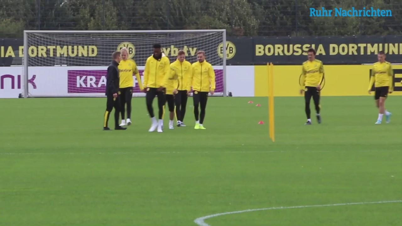 BVB-Training am Tag nach dem Bremen-Spiel