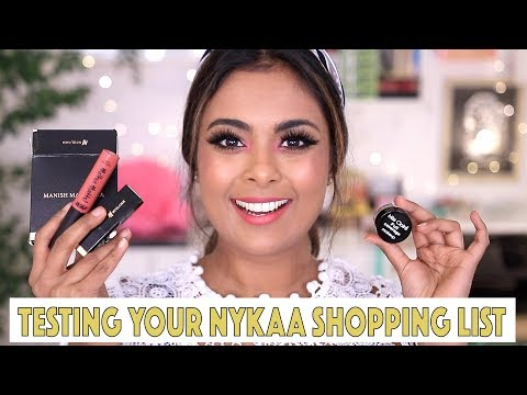 I BOUGHT YOUR NYKAA SHOPPING LIST! Here Is My Sale Haul!