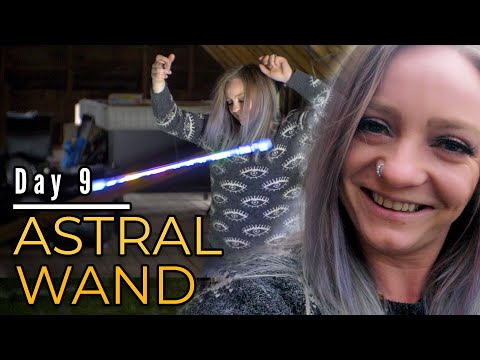 30 Days of Flow | Day 9 | Astral levi wand / flow wand