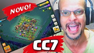 LAYOUT PODEROSO CC7, BH7 PARA VILA DO CONSTRUTOR, CLASH OF CLANS