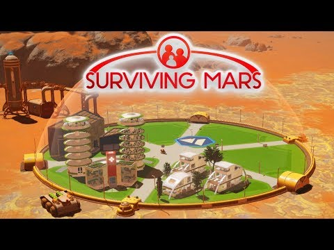 FIRST HUMANS ON MARS! - Surviving Mars #2