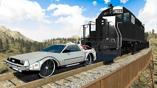 Train Accidents #6 - BeamNG DRIVE | SmashChan
