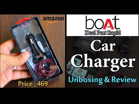 boAt Dual Port Rapid Car Charger | Unboxing & Review