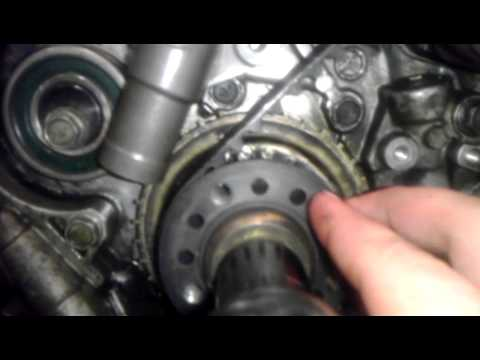How to change timing belt on a 4g69 engine, 2006 Mitsubishi GS Eclipse Part 3 VERY IMPORTANT