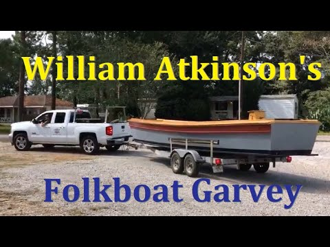28' Cajun Folkboat Recently Launched - YouTube