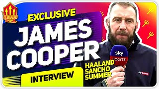 Pogba Stays! Haaland Transfer Latest! James Cooper Interview Man Utd News
