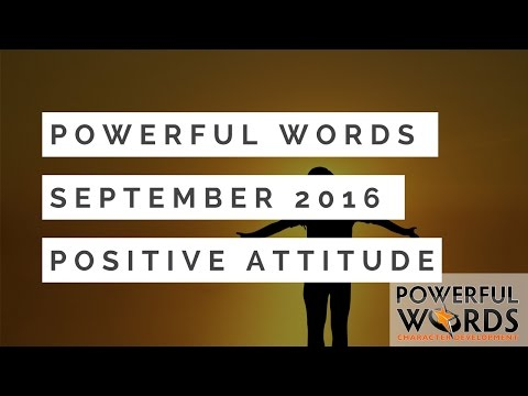 Dr. Robyn Silverman introduces the Sep 2016 Powerful Word of the ...