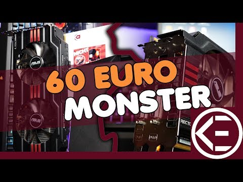60 EURO MONSTER Grafikkarte mit GTX 1050ti Leistung | Radeon HD 7950 vs. Gaming 2017