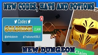 NEW UPDATE - NEW DUNGEON - NEW HATS - GOLD MINE - NEW CODE! - Unboxing Simulator (Roblox)