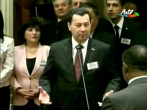 AzTV report on official visit of Azerbaijani Delegation to California