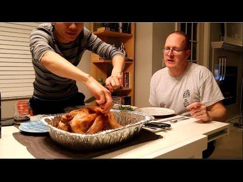 🌈28  Gay Việt Chồng Mỹ Nướng Gà Tây Ăn Lễ Thanksgiving  Long Tran USA