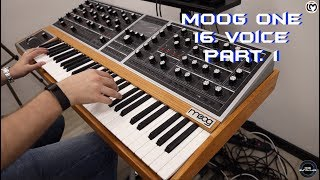 Moog One 16 Voice Part. 1