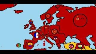 Countryballs. Будущее СССР и Европы 10 серия Начало 3 мировой войны 1 часть