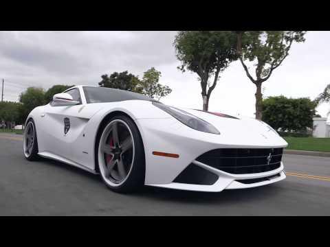 GFG Forged Modular Wheels FM-212 on Ferrari 458