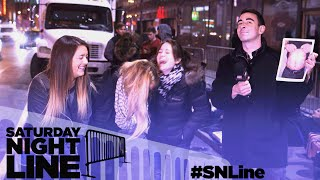 Saturday Night Line: SNL Fans Try Their Luck at The Rock Trivia