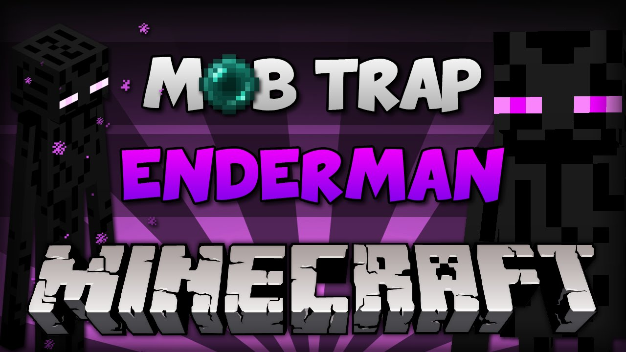 how to make a enderman farm in minecraft pe
