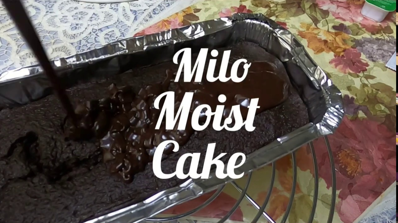 Kek Milo Kukus Viral Malaysian Milo Moist Cake Lockdown Youtube