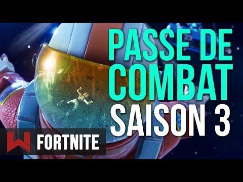 SAISON 3 & NOUVEAU PASSE DE COMBAT | Fortnite Battle Royale