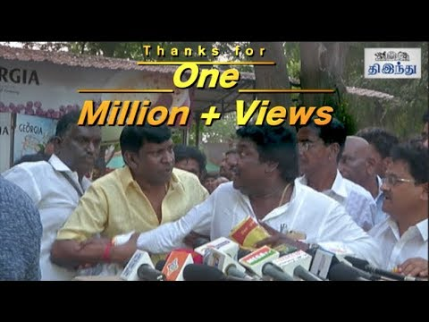 Vadivelu's Fun Moments with Karunas | Nadigar Sangam Meeting | Tamil The Hindu