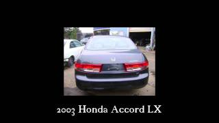 2003 Honda Accord parts AUTO WRECKER RECYCLER anhdonline.com Acura used