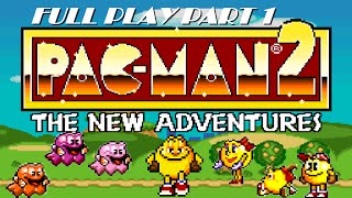 Video Pacman 2: The New Adventures - Genesis - Part 1 - No Commentary download MP3, 3GP, MP4, WEBM, AVI, FLV November 2018