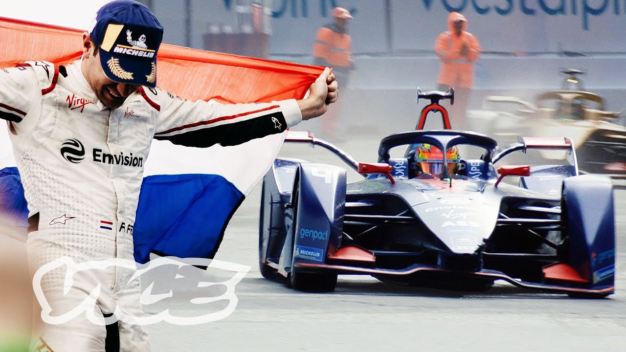 Inside The World's First Fully-Electric Racing Grand Prix