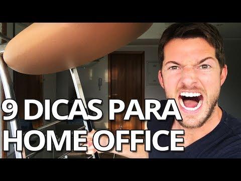 Home Office: 9 Dicas Para Trabalhar Em Casa Com Produtividade Máxima!