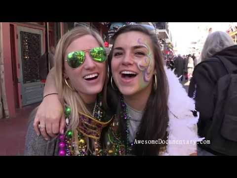 Mardi Gras 2016 Bourbon Street