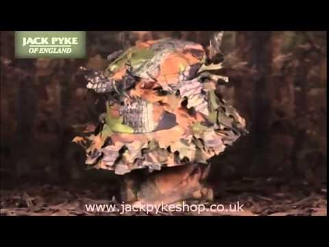 Jack Pyke LLCS Boonie Hat 3D Details - YouTube 959bc58102c