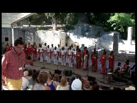 arr. Yveline Damas: Negro - Le chant sur la Lowé-Gabon; Yveline Damas