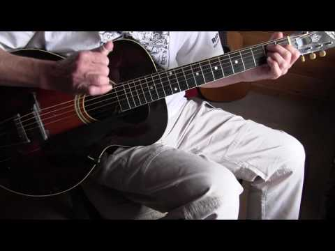 "Fingerpicking Blues Lesson ""Catfish Blues"""