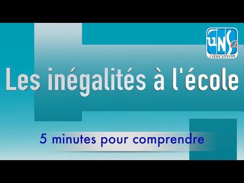 Les inégalités à l'école - Jean-Paul Delahaye
