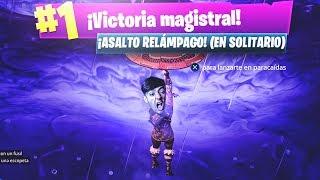EPIC VICTORIA EN SOLITARIO EN EL NUEVO MODO DE JUEGO de FORTNITE: Battle Royale!! - Agustin51
