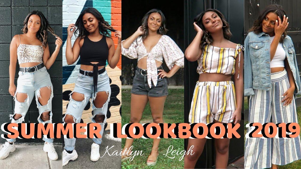 [VIDEO] - 5 Summer Outfit Ideas | SUMMER LOOKBOOK 2019 8