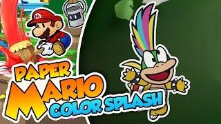 ¡Toma truco de magia Lemmy! - #40 - Paper Mario Color Splash (Wii U) en Español