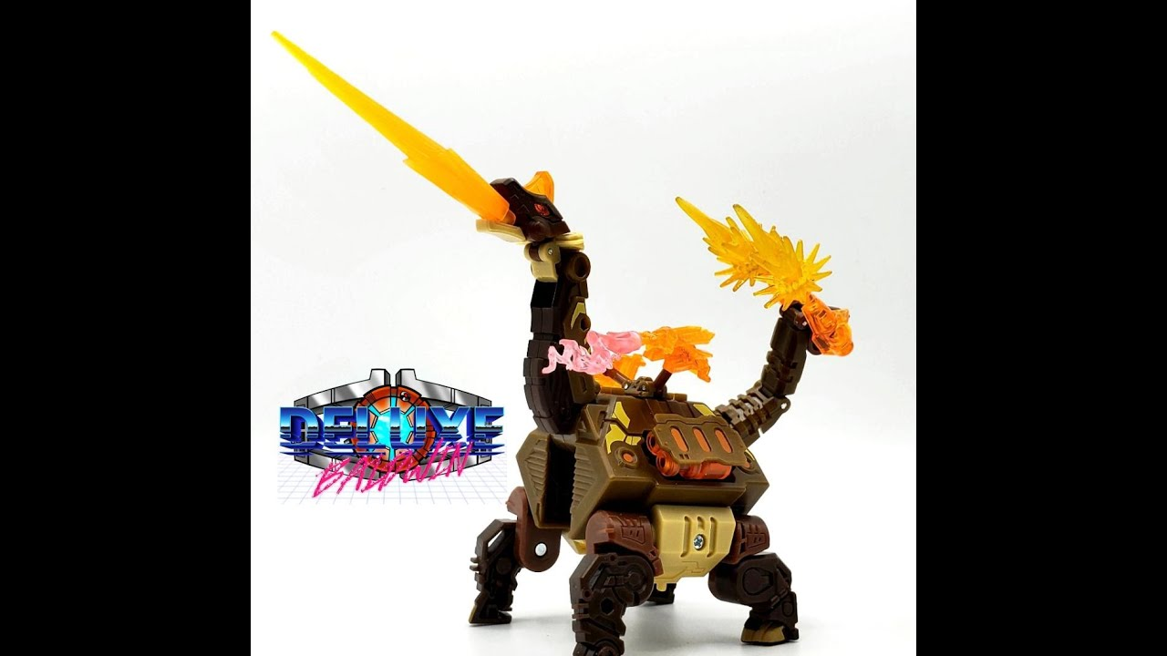 52Toys Beast Box BB-22TH Thunderhoof Review by Deluxe Baldwin