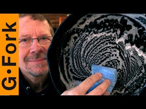 Can You Clean Cast Iron With Soap?   GardenFork