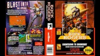Buck Rogers Countdown to Doomsday Megadrive Review