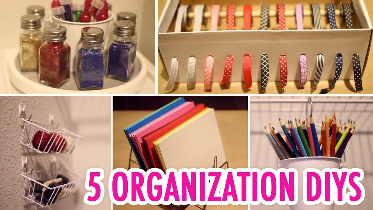 5 Easy Craft Supply Organization Diys Hgtv Handmade